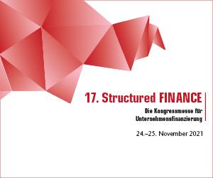 Treffen Sie uns auf der Structured Finance 2021